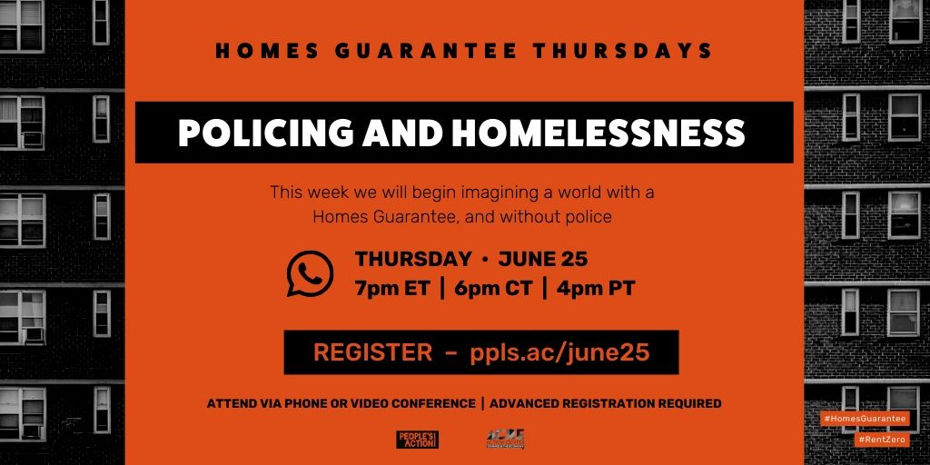 ARCHIVED: Policing + Homelessness – June 25