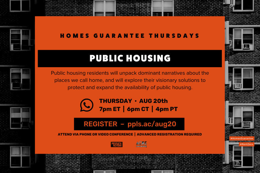 ARCHIVED: Public Housing: Aug 20