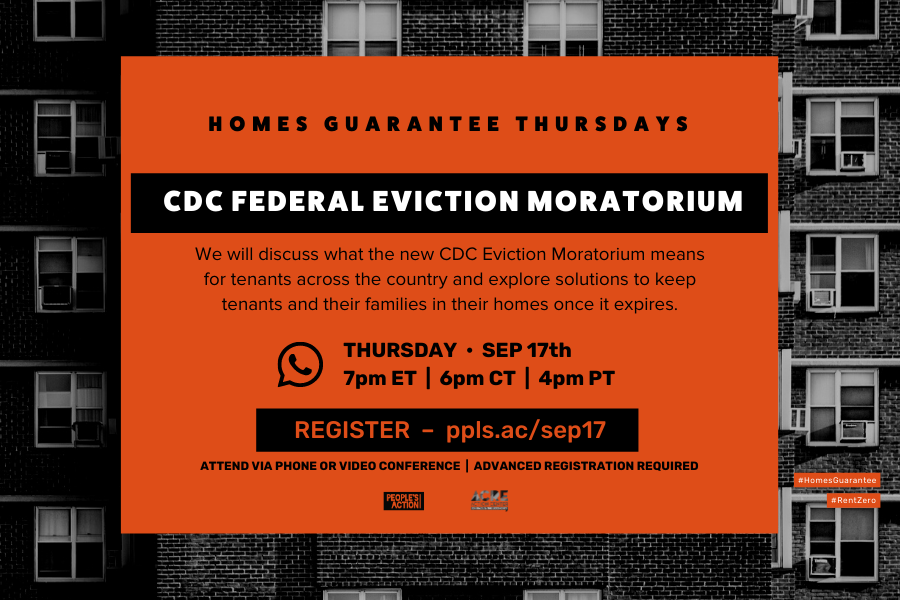 ARCHIVED: CDC Federal Eviction Moratorium – Sep 17