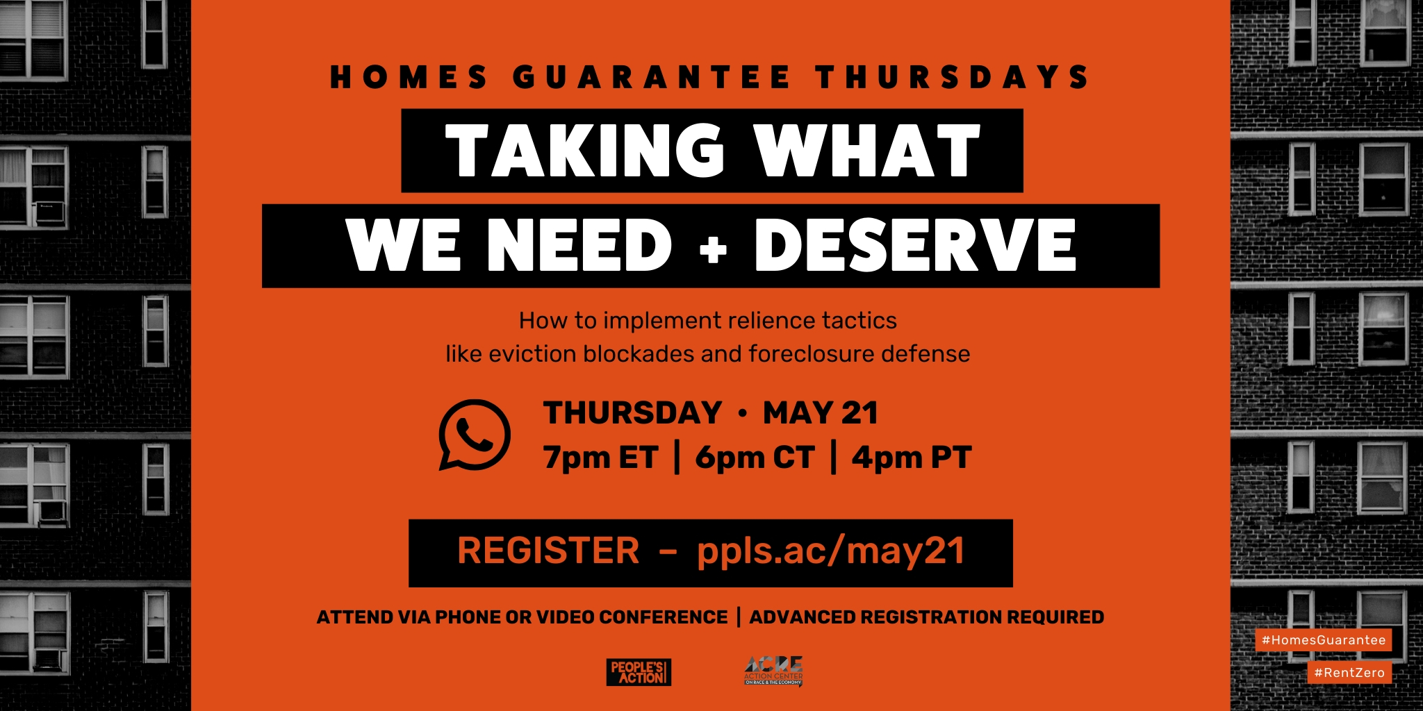REGISTER: Taking What We Need and Deserve – May 21