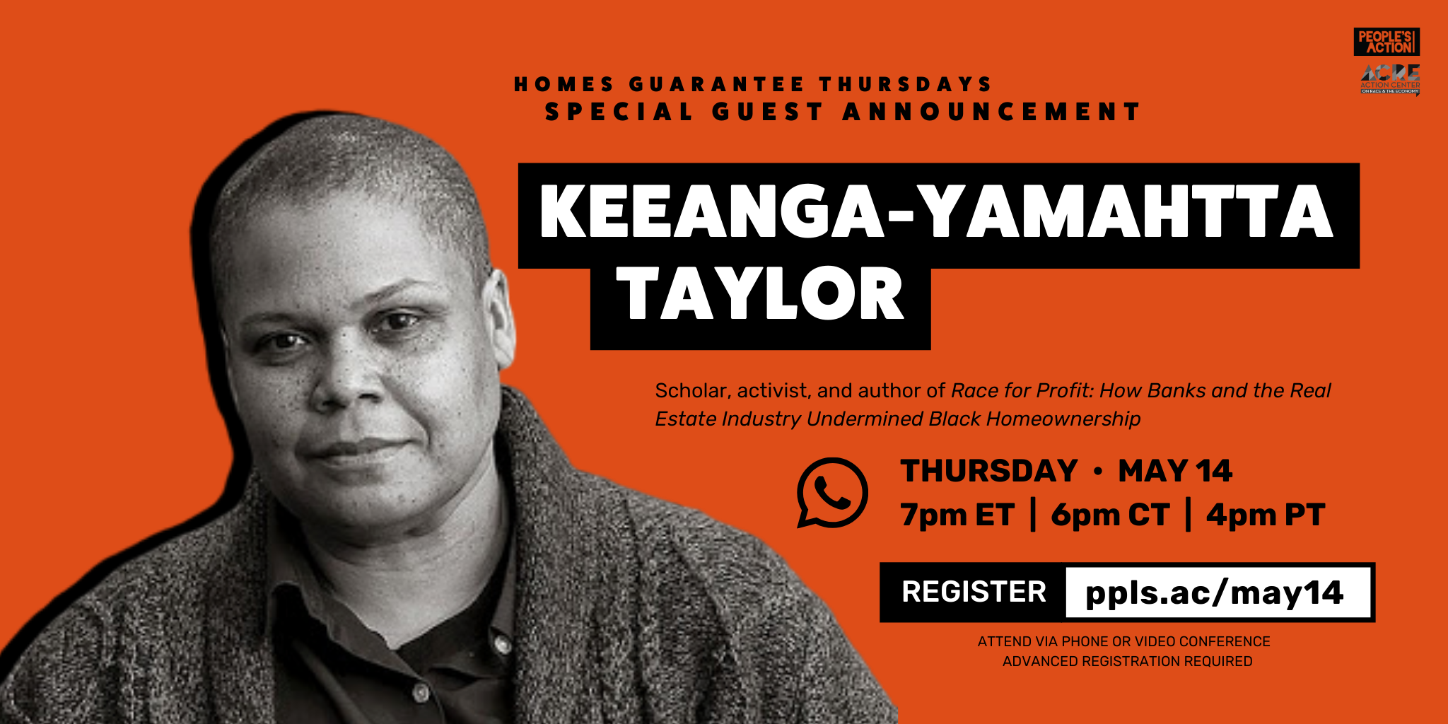 ARCHIVE: Q&A with Keeanga-Yamahtta Taylor – May 14