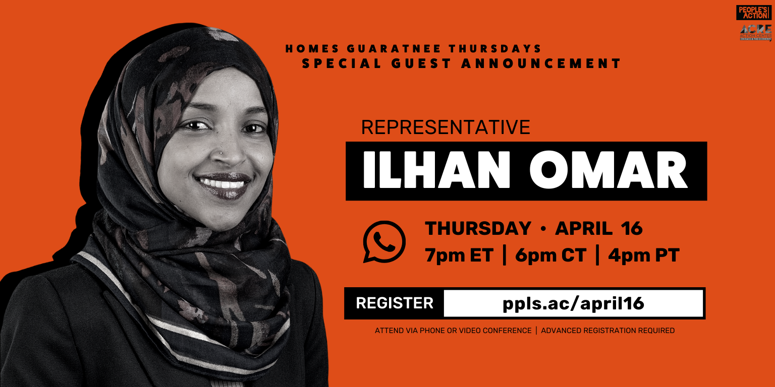 ARCHIVE: Winning Rent Zero with Rep. Ilhan Omar – April 16