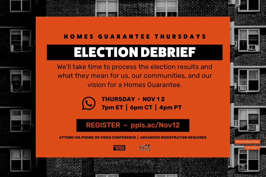 ARCHIVED: ELECTION DEBRIEF – Nov 12