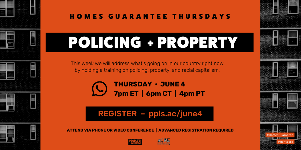 ARCHIVED: Policing + Property – June 4